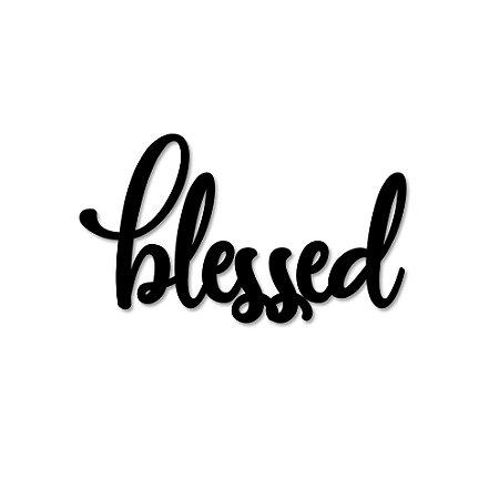 Palavra de Parede Blessed