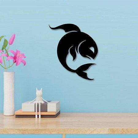 Escultura de Parede Peixes