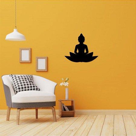 Escultura de Parede Meditação