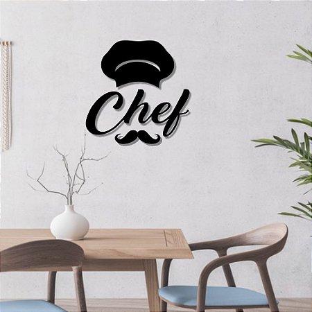 Escultura de Parede Chef