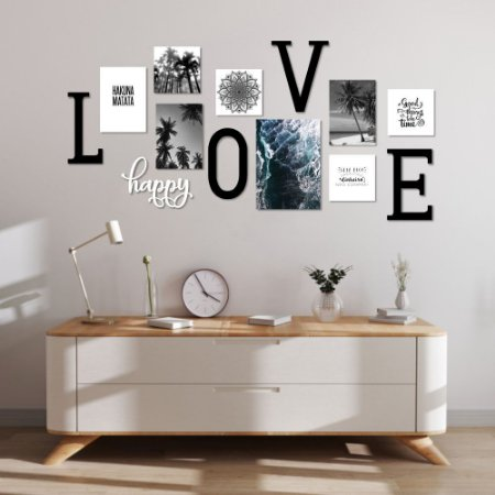Kit Decoração Love