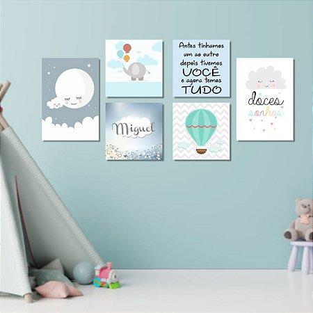 Kit Quadros Decorativos Decoração Doces Sonhos
