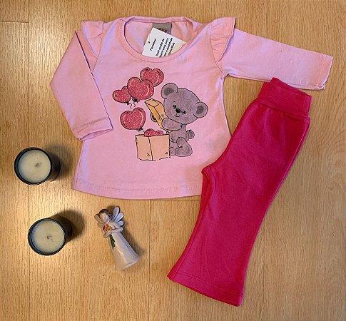 Conjunto Camiseta e Calça Surpresa