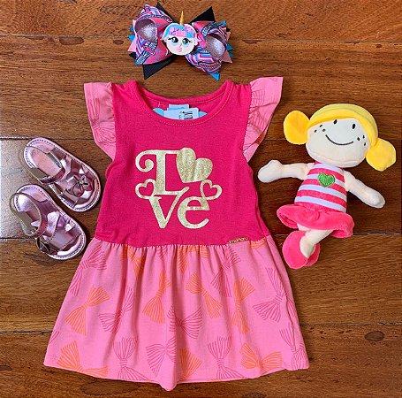 Vestido Love Pink
