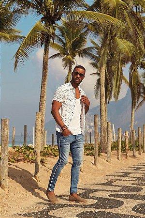calca jeans masculina skinny ( Frete Grátis para o Estado de SP )