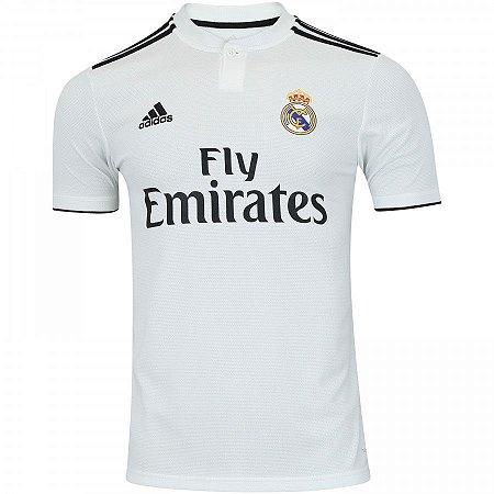 Camisa do Real Madrid 2018 2019 original adidas lançamento - futtudo ... dc440f80e6860