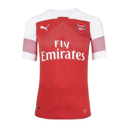 Nova Camisa do Arsenal Home 18 19 original Puma Pronta Entrega ... 7fa1f8afbf935