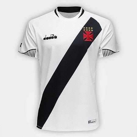 968452d208 Camisa Vasco Transição I 2018 s nº Torcedor Diadora Masculina ...