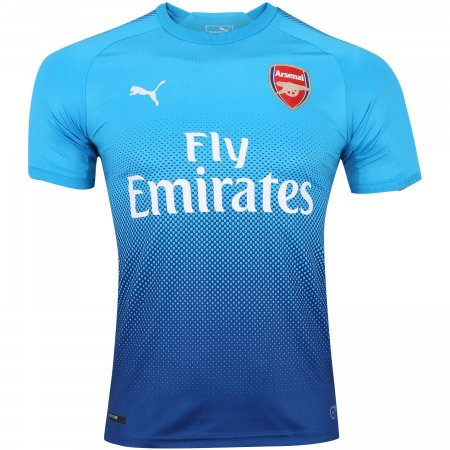 02c68065ee Camisa Arsenal Away 17 18 - Torcedor Puma Masculina - Azul Turquesa