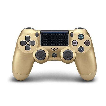 Controle Dualshock 4 PS4 Dourado - Sony