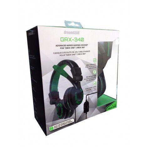 Headset GRX-340 Stereo Dreamgear com fio - Xbox One/ Xbox 360