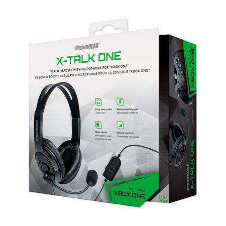 Headset DreamGEAR X-Talk One Preto com Fio - Xbox One