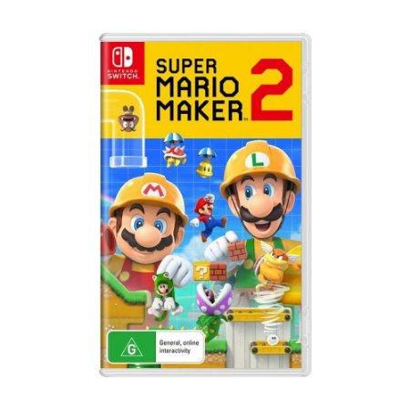 Jogo Super Mario Maker 2 - Switch