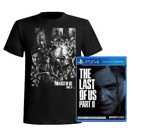 Kit The Last of Us: Part II - PS4 + Camiseta Exclusiva