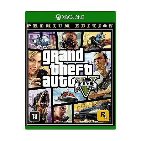Jogo Grand Theft Auto V (Premium Edition) - Xbox One