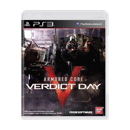 Jogo Armored Core Verdict Day - PS3 (seminovo)