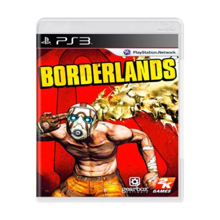 Jogo Borderlands - PS3 (seminovo)