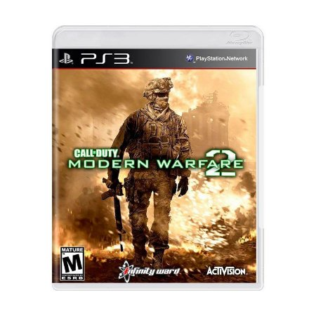 Jogo Call of Duty Modern Warfare 2 - PS3 (seminovo)