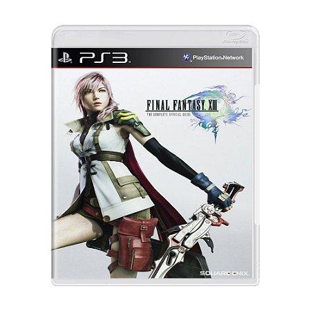 Jogo Final Fantasy XIII - PS3 (seminovo)