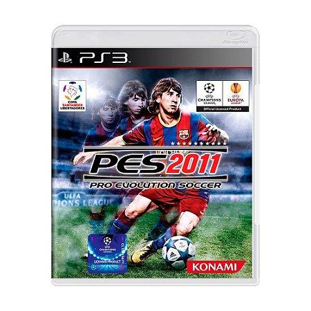 Jogo Pro Evolution Soccer 2011- PS3 (seminovo)