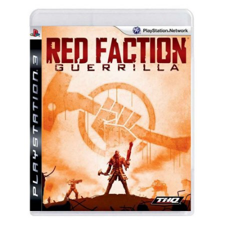 Jogo Red Faction Guerrilla - PS3 (seminovo)