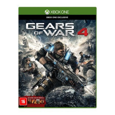 Jogo Gears of War 4 - Xbox One (Semi novo)