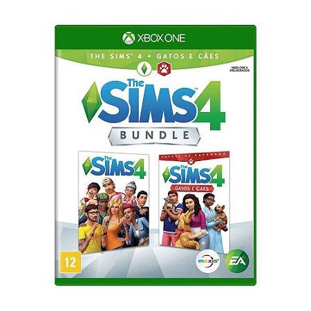 Jogo The Sims 4: Gatos e Cães (Bundle) - Xbox One