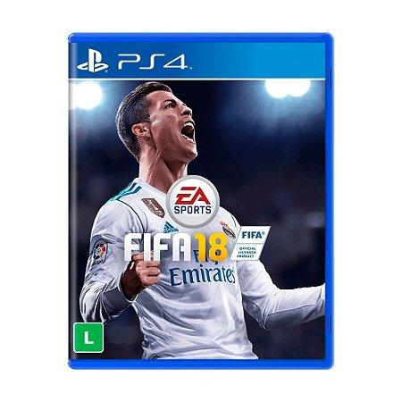 Jogo FIFA 18 - PS4 (Seminovo)