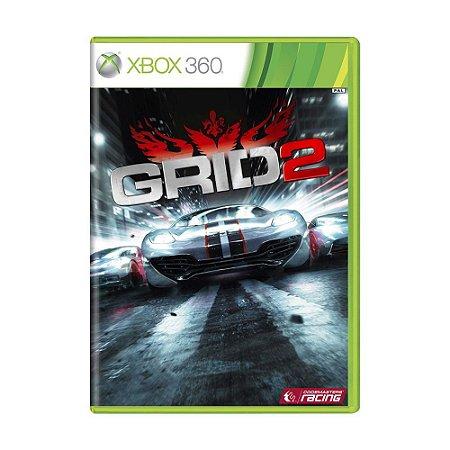 Jogo GRID 2 seminovo - Xbox 360