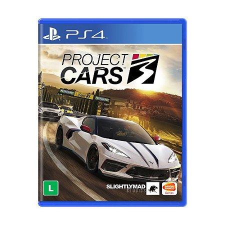 Jogo Project Cars 3 - PS4