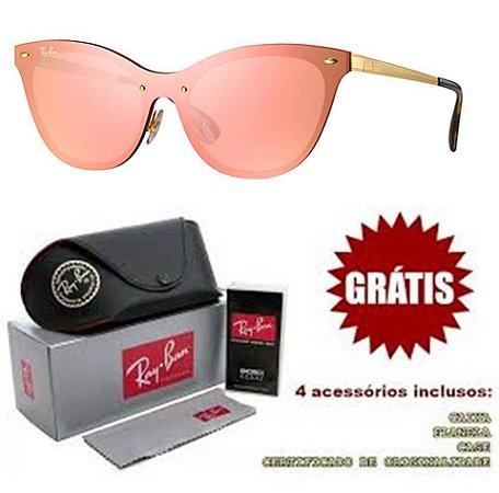 b7c57b3df3665 Replica Ray Ban Cat Gatinho Blaze Óculos Primeira Linha - Replicas ...