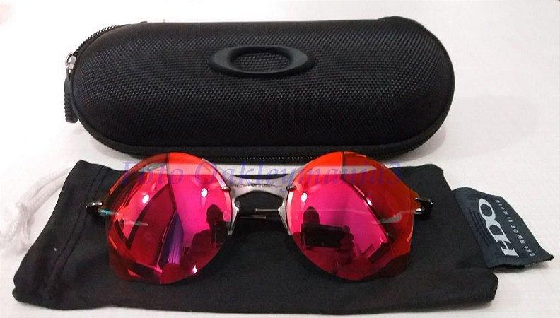 Oculos Oakley Tailend Grafite Lente Vermelha Replica