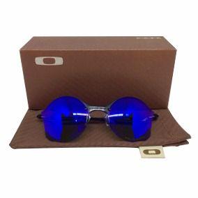 Oculos Oakley Tailend  Lente Azul Replica Primeira Linha