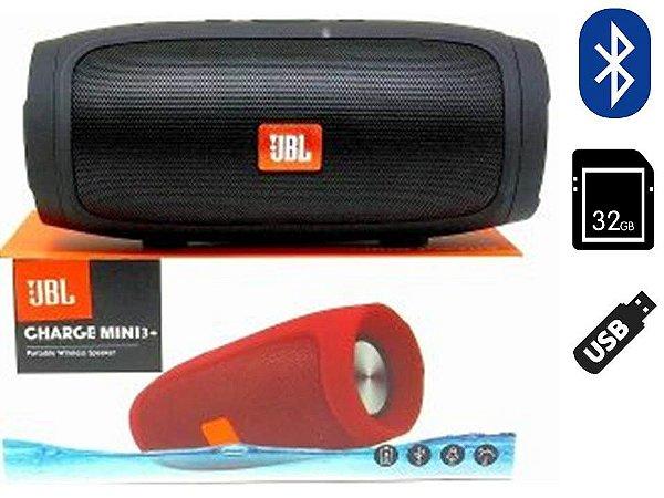 Caixa JBL Charge Mini Entrada P/ Pen Drive Cartão Bluetooth