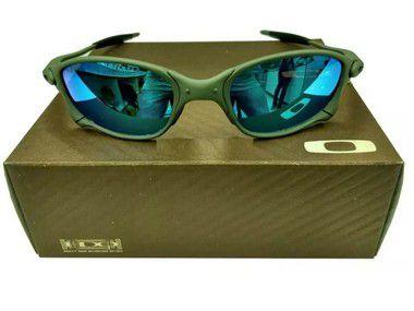 Oculos Oakley Double Xx Azul Bebe + Saquinho + Caixa Oakley