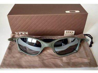 Oculos Oakley Double Xx Espelhada + Saquinho + Caixa Oakley