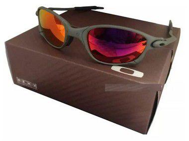 Oculos Oakley Double Xx Ruby + Caixa + Saquinho Oakley