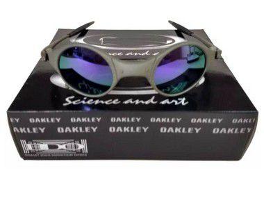 Oculos Oakley Mars Medusa Roxa + Saquinho + Caixa Da Oakley