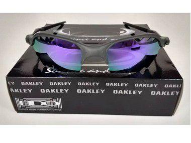 Oculos Oakley Romeo 2 Parriot Roxa + Caixa + Saquinho Oakley
