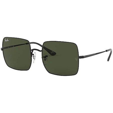 Óculos De Sol Ray-ban Square Rb1971 Quadrado Preto