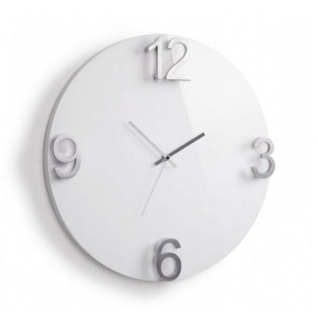 Relógio Parede Elapse Branco