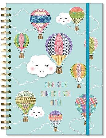 Caderno Universitário 96 fls Nuvem e Balão