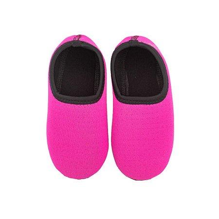 Sapato Neoprene Ufrog Fit Infantil Pink