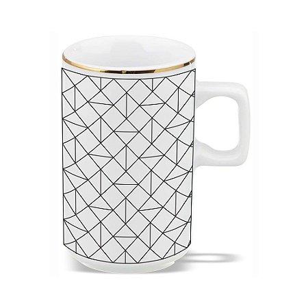 Xícara Café Geométrico 80ml