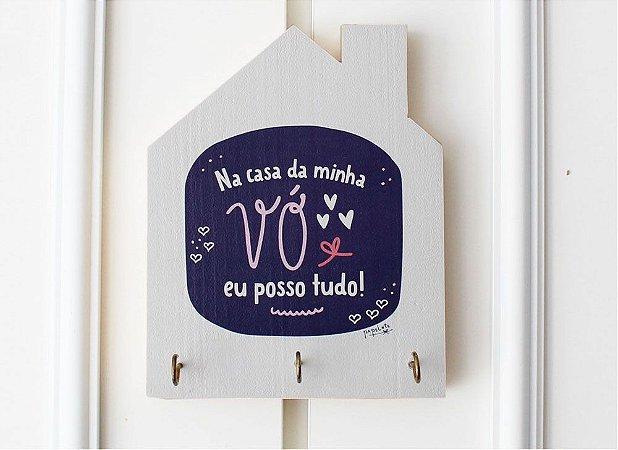 Porta Chaves Casinha Na Casa Da Minha Vó Eu Posso Tudo