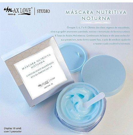 Máscara Nutritiva Noturna - Max Love