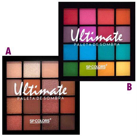 Paleta de Sombras Ultimate - SP Colors