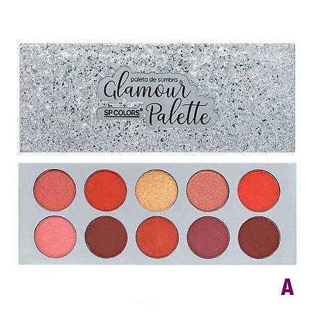 Paleta de Sombras SP Colors Glamour