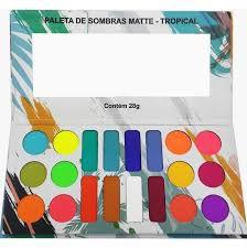 Paleta de Sombras Tropical - Ludurana