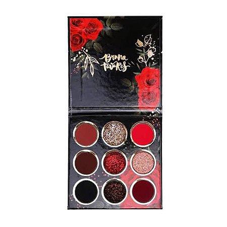 Paletas de Sombras Coleção Red Rose - Bruna Tavares